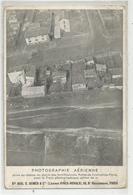 Cpa Pub Publicité Gomes Paris Photographie Aérienne Fortifications Porte De Courcelles Avec Train Aérien 1911 - Advertising