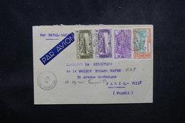 GUYANE - Enveloppe En Recommandé De Cayenne Pour Paris En 1938 , Affranchissement Plaisant  - L 52192 - Guyane Française (1886-1949)