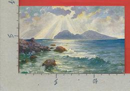 CARTOLINA VG ITALIA - CAPRI (NA) - La Perla Del Mediterraneo - 9 X 14 - 1920 Per PARIGI - Napoli