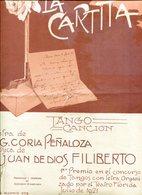 LA CARTITA TANGO CANCION LETRA DE G CORIA PEÑALOZA MUSICA DE JUAN DE DIOS FILIBERTO PARTITURA - NTVG. - Partituras