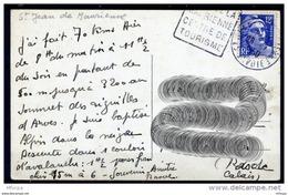 Lil3223 Savoie 73 St Jean De Maurienne DAGUIN ST-JE401 Visitez La Maurienne Centre De Tourismee /CP 28/??/50 - Marcophilie (Lettres)