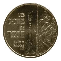 Monnaie De Paris , 2011 , Saint Medard De Presque , Les Grottes De Presque , Le Cierge - Monnaie De Paris