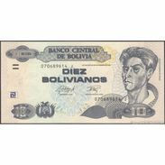 TWN - BOLIVIA 243 - 10 Bolivianos 28.11.1986 (2015) Serie J - Printer: OF UNC - Bolivia