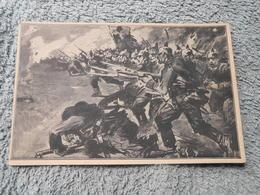 Cpa Pk Patriotika - Feldpost Propagande Deutschland  Ww1 Guerre 14-18  1wk - War 1914-18