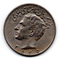 Iran / KM 1209 / 20 Rials 1976  / TB+ - Irán