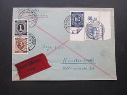 Kontrollrat Vorderseite Nr. 935 Unterrand U. Nr. 957 P OR Dgz Eckrandstück Geprüft Hohmann BPP Nordwalde Nach Münster - Zone AAS