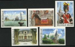 [A2647] België 2377/81 – Toerisme – Antwerpen – Gerpinnes – Lommel – ON – Cote: € 50,00 - België