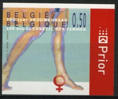[A2933] België 3348 – 100 Jaar Vrouwenraad – 100 Ans Du Conseil Des Femmes – ON – Cote: € 10,00 - België