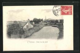 CPA Salin-de-Giraud, Cie Pechiney, Usine Vue Du Canal - Francia