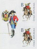 Czech Republic - 2020 - Postal Uniforms - Mint Self-adhesive Booklet Stamp Pair With Margin - Czech Republic