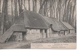 Environs De Fecamp Ganzeville Chaumiere Normande - France