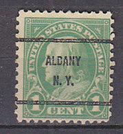 J0477 - ETATS UNIS USA Yv N°228 ALBANY - Vorausentwertungen