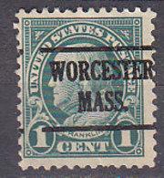 J0480 - ETATS UNIS USA Yv N°228 WORCHESTER - Stati Uniti