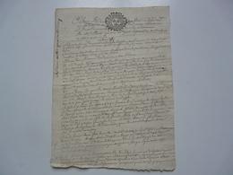 VIEUX PAPIERS - MANUSCRIT - Manuscritos
