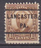 J0504 - ETATS UNIS USA Yv N°292 LANCASTER - Stati Uniti