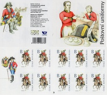 Czech Republic - 2020 - Postal Uniforms - Mint Self-adhesive Stamp Booklet With Hologram - República Checa