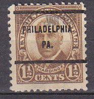 J0509 - ETATS UNIS USA Yv N°292 PHILADELPHIA - Stati Uniti