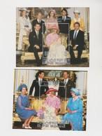 COREE DU NORD, Naissance Du Prince William, Famille Royale, 2 Timbres - Korea, North