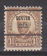 J0514 - ETATS UNIS USA Yv N°292 DENVER - Stati Uniti