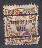 J0515 - ETATS UNIS USA Yv N°292 SPRINGFIELD - Stati Uniti