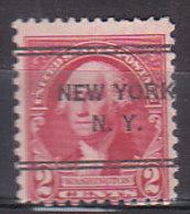 J0520 - ETATS UNIS USA Yv N°302 NEW YORK - Vorausentwertungen