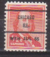 J0539 - ETATS UNIS USA Yv N°598 CHICAGO - Vorausentwertungen