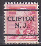 J0540 - ETATS UNIS USA Yv N°588 CLIFTON - Stati Uniti