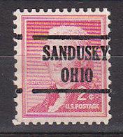J0542 - ETATS UNIS USA Yv N°588 SANDUSKY - Stati Uniti