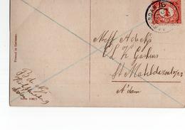 Amsterdam 16 Grootrond - 1914 - Poststempel
