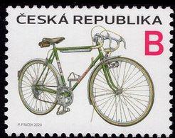 Czech Republic - 2020 - Favorit Bicycle - Mint Stamp - Czech Republic