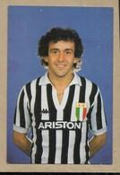 Juventus - Platini - Non Viaggiata - Calcio