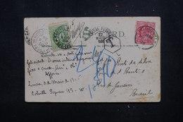 BRÉSIL - Taxe De Rio De Janeiro Sur Carte Postale De Londres En 1905 - L 52212 - Cartas