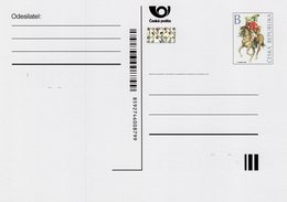 Czech Republic - 2020 - Postal Uniforms - Prepaid Postcard With Printed Stamp And Hologram - Postales