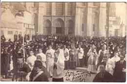 CHALONS SUR MARNE - Carte Photo Du Sacre  De Monseigneur Tissier. - Châlons-sur-Marne