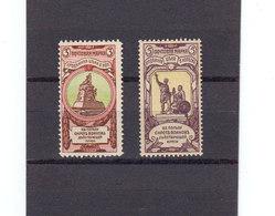 Russie Empire 1905 Yvert 55 / 56 * Neufs Avec Chaniere. Bienfaisance. (2129t) - 1857-1916 Empire