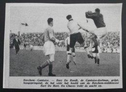 Berchem-Gantoise : Voetbal 1949 - Documents Historiques