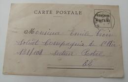 CP Carte Postale Franchise Militaire 1940 WWII Compagnie De L'air 131/108 Rétro - Guerre 1939-45