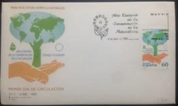 "Spain, Uncirculated FDC, ""Año Europeo De La Conservación Da La Naturaleza"", ""Nature"", 1995 - FDC"