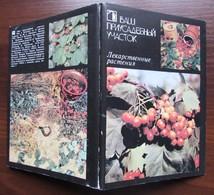 MEDICINAL PLANTS. Set Of 18 Postcards In Folder - USSR, 1988 - Medicinal Plants