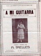 A MI GUITARRA ESTILO CON LETRA POESIA Y MUSICA DE A TRELLES PARTITUTA - NTVG. - Partituras