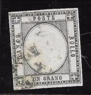 Emissioni Per Le PROVINCE NAPOLETANE 1861 Re Vittorio Emanuele II - N. 19 Usato - Cat. 60 € - L. 227 - Napoli