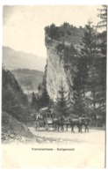 Viamalastrasse, Splügenpost (attelage Diligence Swiss Stage Coach) - GR Grisons