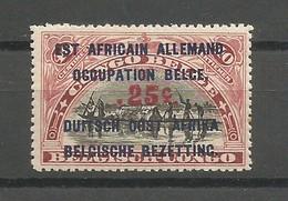 Ruanda Urundi COB 47  NSC / MNH / * * 1922 Congo Belge Surchargé - Ruanda-Urundi