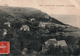 Vaucottes Sur Mer (Le Littoral, Seine-Inférieure) Les Villas - Carte L.J. N° 802 - Altri Comuni