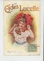 PUBLICITÉ - Carte PUB Pour CYCLES LUCETTE Signée A. Parent - Publicidad