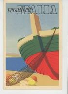 """PUBLICITÉ - ITALIE - Carte PUB """"Verano En ITALIA """" - Organismo Oficial Des Estado Italiano Para El Turismo - Publicidad"""