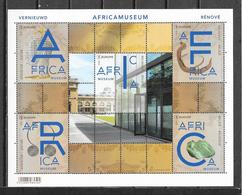 België 2018  Velletje  AFRICAMUSEUM (**) - Unused Stamps