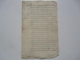 VIEUX PAPIERS - MANUSCRIT : A Tous Ceux Qui Ces Pntes Verront François De Dinan... Monthlery - Manuskripte