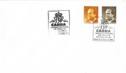 35655. Carta CABRA (Cordoba) 1999. Concesion Titulo De MUY LEAL CIUDAD - 1931-Hoy: 2ª República - ... Juan Carlos I