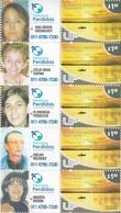 RIO PARANA, PAISAJE ARGENTINO. SELLOS CON VIÑETAS DE PERSONAS PERDIDAS LOST PEOPLE. ARGENTINA 2010 GJ 3826 MNH -LILHU - Ungebraucht